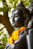 Het standbeeld van Boedha in Patan, Nepal Stock Afbeeldingen