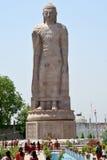 Het Standbeeld van Boedha in Sarnath Royalty-vrije Stock Foto