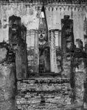 Het Standbeeld van Boedha in Sukhothai, Thailand Royalty-vrije Stock Foto