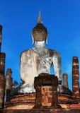 Het standbeeld van Boedha is Sukhothai in Thailand Royalty-vrije Stock Afbeelding