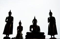 Het standbeeld van Boedha in Thailand Stock Fotografie