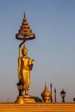 Het standbeeld van Boedha in Thailand Stock Afbeeldingen