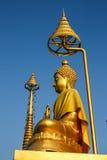 Het standbeeld van Boedha in Thailand Royalty-vrije Stock Afbeelding