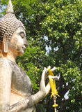 Het standbeeld van Boedha in Thailand Stock Foto's