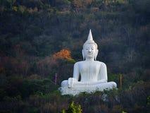 Het standbeeld van Boedha in Thailand Stock Afbeelding