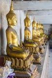 Het standbeeld van Boedha, Thailand Stock Afbeelding