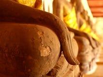 Het standbeeld van Boedha, Thailand Stock Afbeeldingen