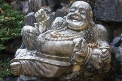Het standbeeld van Boedha van de steen Royalty-vrije Stock Fotografie
