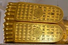 Het Standbeeld van Boedha van de voet Royalty-vrije Stock Foto