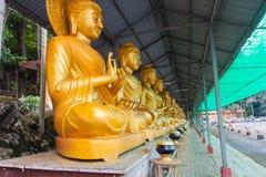 Het standbeeld van Boedha in vrede Stock Foto