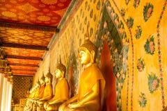 Het standbeeld van Boedha in Wat Arun Royalty-vrije Stock Afbeelding