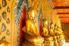 Het standbeeld van Boedha in Wat Arun Royalty-vrije Stock Foto's