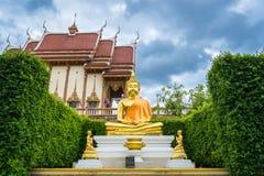 Het standbeeld van Boedha in Wat Ban Rai Stock Fotografie