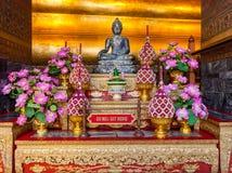 Het standbeeld van Boedha in Wat Pho, Bangkok Stock Afbeelding