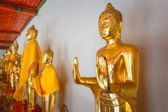 Het Standbeeld van Boedha in Wat Pho (Pho-Tempel) in Bangkok Stock Afbeelding