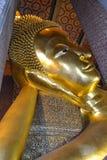 Het standbeeld van Boedha in Wat Pho Temple, Bangkok, Thailand Royalty-vrije Stock Afbeelding
