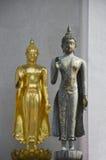 Het standbeeld van Boedha in Wat Saket Stock Foto's