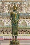 Het standbeeld van bronsboedha Stock Afbeelding