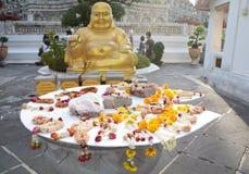 Het standbeeld van Budda Stock Afbeeldingen