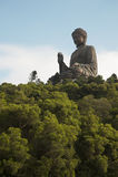 Het Standbeeld van Budda in Hongkong royalty-vrije stock foto's