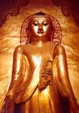 Het standbeeld van Buddah stock afbeeldingen