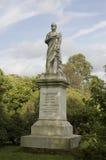 Het standbeeld van Burggraaf Palmerston, Southampton Stock Afbeelding
