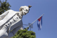 Het standbeeld van Carlos Manuel DE Céspedes royalty-vrije stock foto's