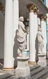 Het standbeeld van Catherine Palace. St. Petersbu royalty-vrije stock afbeeldingen