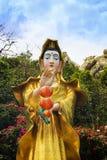 Het Standbeeld van Chao Mae Kuan Im of Guanyin Stock Fotografie