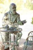 Het standbeeld van Charles Darwin Stock Fotografie