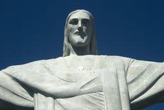 Het Standbeeld van Christus, Rio de Janeiro, Brazilië Stock Foto