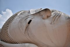 Het standbeeld van close-upboedha Royalty-vrije Stock Fotografie