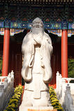 Het standbeeld van Confucius Stock Foto