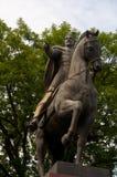 Het Standbeeld van Danylo Halytsky in lviv Royalty-vrije Stock Foto's