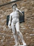 het standbeeld van David stock afbeelding