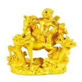 Het standbeeld van de aapgod Stock Foto