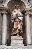 Het standbeeld van de advocaat Stock Afbeelding