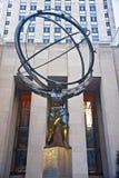 Het standbeeld van de atlas Royalty-vrije Stock Foto's