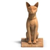 Het standbeeld van de bast Stock Foto