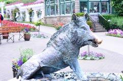 Het standbeeld van de beer Royalty-vrije Stock Afbeelding