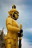 Het standbeeld van de beschermer Stock Foto