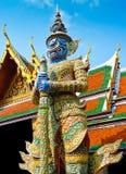 Het standbeeld van de beschermer Stock Afbeeldingen
