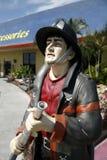Het Standbeeld van de brandweerman Royalty-vrije Stock Afbeelding