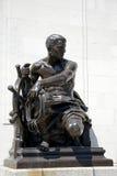 Het standbeeld van de bronsmarine, Birmingham royalty-vrije stock foto