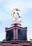 Het standbeeld van de dolfijn Royalty-vrije Stock Foto