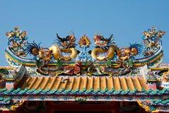 Het standbeeld van de draak Stock Afbeeldingen