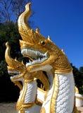 Het Standbeeld van de draak Stock Afbeelding