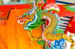 Het standbeeld van de draak Royalty-vrije Stock Afbeelding