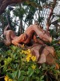 Het standbeeld van de draak Royalty-vrije Stock Fotografie