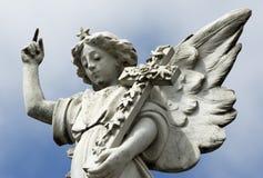 Het Standbeeld van de engel. Stock Afbeeldingen
